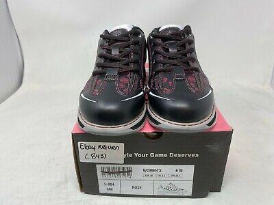 New Women/'s SaVi Rose Black//White//Red Bowling Shoes Size 6.5