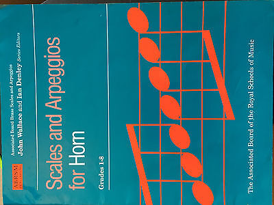 Scales and Arpeggios for Horn Grades 1-8 ABRSM Scale Music Book FINGERING GUIDE