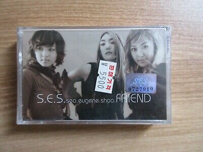 S.E.S -  Friend Album Korea Music Sealed Cassette Tape KPOP BRAND NEW SES