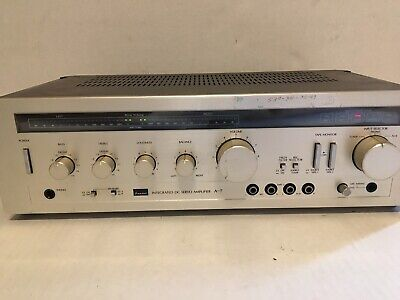 Sansui Integrated DC Servo Amplifier Model A-7 CA Tested