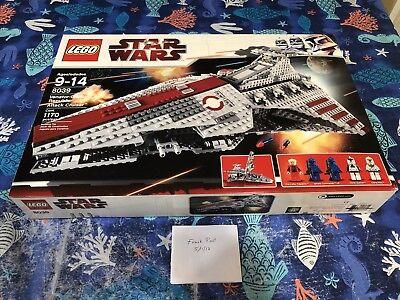 Lego Star Wars 8039 Venator Class Republic Attack Cruiser Factory Sealed Retired