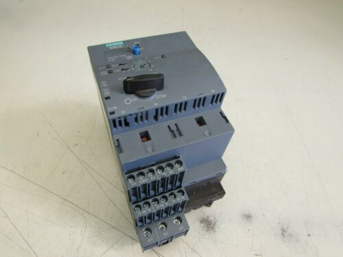 SIEMENS MAGNETIC MOTOR STARTER 3-12A 3RA6250-1DB32 NICE USED TAKEOUT !!