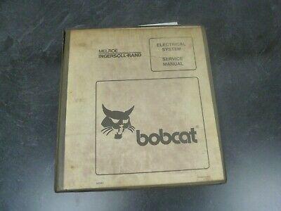 Bobcat 773g 863g Skid Steer Electrical Wiring Diagrams Service Repair Manual