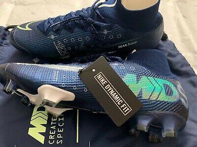 Genuine Nike Mercurial Superfly 7 Elite MDS FG RRP £250 BQ5469-401 - Size UK 10