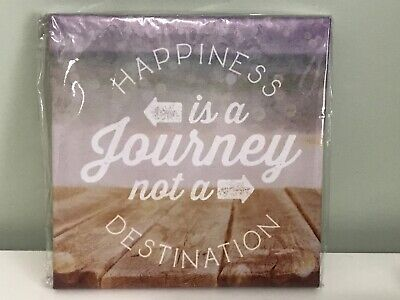 Canvas Wall Art Decor Happiness Inspirational Picture Spirit Gift -