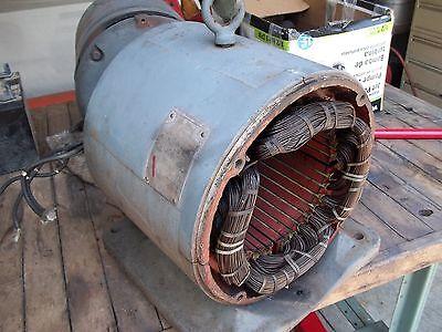 1015 Hp 1 Phase Baldor Motor Stator