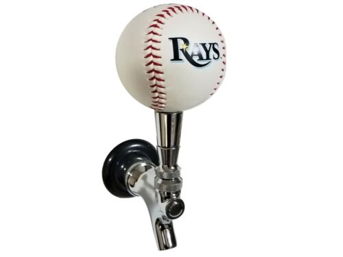 Tampa Bay Rays Licensed Baseball Beer Tap Handle