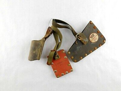 R.h. Buhrke Bell System Electrical Lineman Pole Belt Climbing Safety Tool Guard