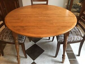 Dining table.  round or oval