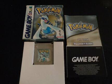 Pokemon Silver in Box with Manual
