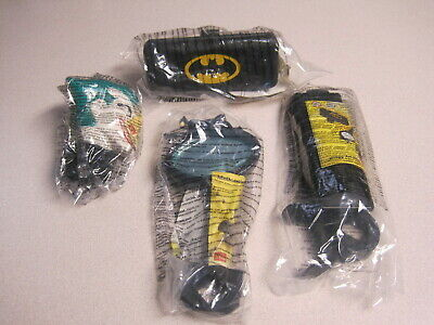 McDonalds 1996 Batman Bike Accessories - Great Foreign Set -  Rare - MIP