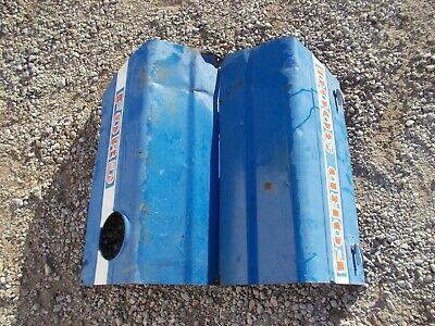 Ford 3000 Gas Tractor Original Hood Covers Cover