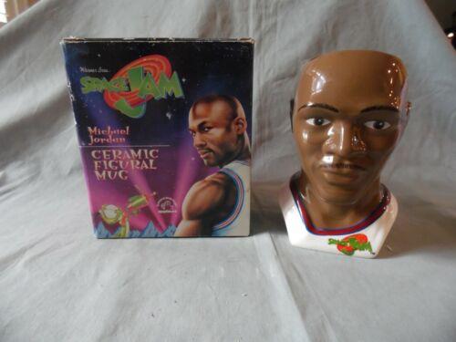 Michael Jordan Space Jam figural ceramic mug MIB VINTAGE ORIGINAL 1996