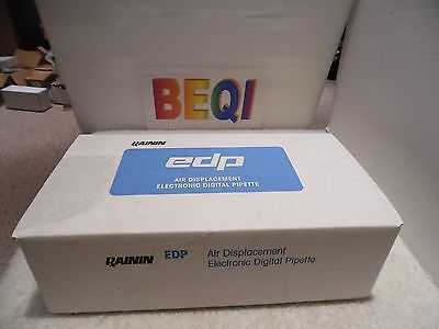 Rainin Edp1 Electronic Pipette Single Channel 100-1000 Ul Se1-1000 Waccs. Nib