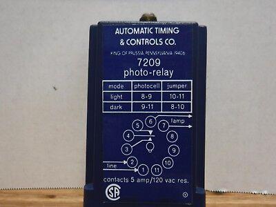 Atc 7209 Photo-relay Automatic Timing Controls 7209