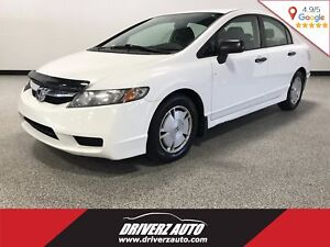 2010 Honda Civic DX-G CLEAN CARPROOF, A/C, CRUISE
