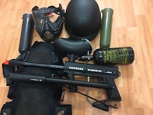 Paintball/Airsoft tippmann 98 Custom Pro wit upgraded