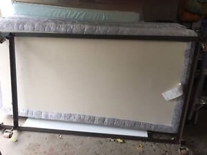 Single mattress,box spring,metal frame