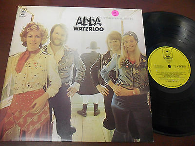 ABBA  LP: Waterloo, Epic, UK Pressing, 1974