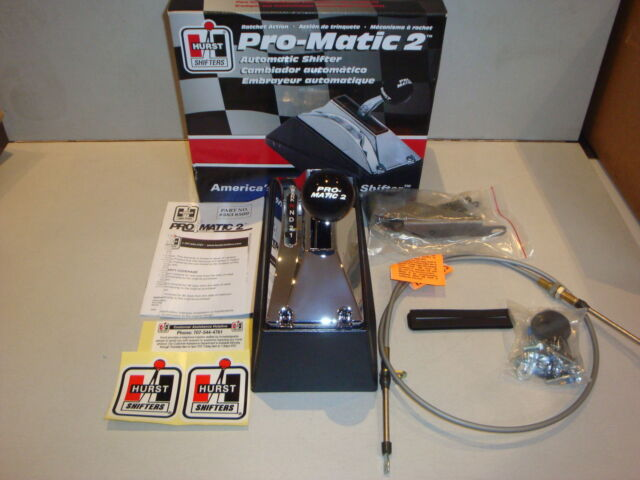 HURST PRO-MATIC 2, 3 SPEED RATCHET SHIFTER SUIT GM, FORD & CHRYSTLER - HU3838500