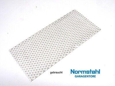 Normstahl Lichtscheibe Plexiglas Abdeckung  Garagentorantrieb Antrieb Perfekt S