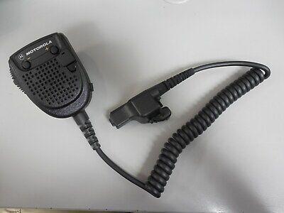 Motorola Rmn5038 Speaker Microphone Xts2500 Xts3000 Xts5000 Ht1000 Pr860