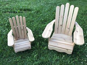 Baby/Toddler Muskoka chairs