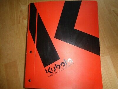 Kubota B26 Tractor Loader Backhoe Factory Workshop Repair Manual Oem