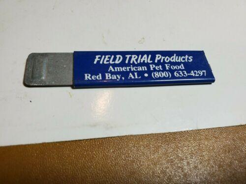 BOX CUTTER RAZOR KNIFE  Advertisement  Field Trial Products American pet Food