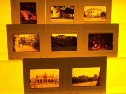 ITALY # 5 SLIDES 1973 35MM COLOR 2 X 2 35 MM