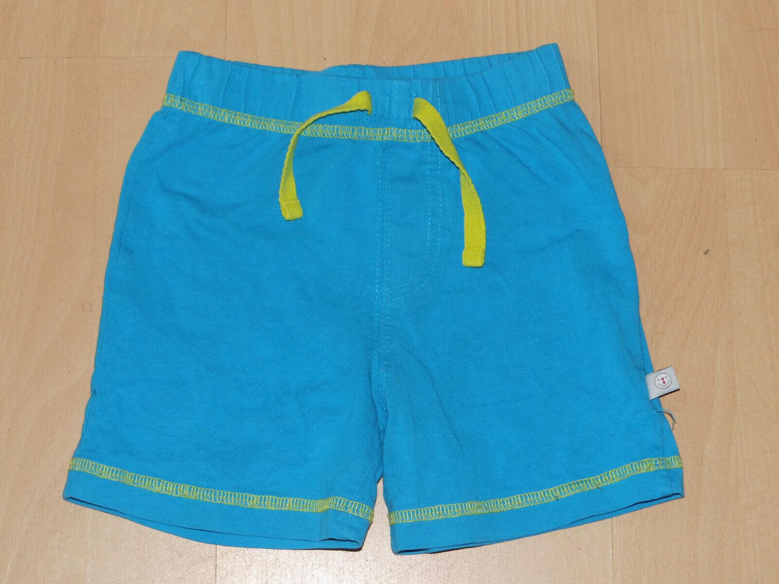Kleinkind kurze Hose Shorts Turnhose blau Gr. 74 Jungen