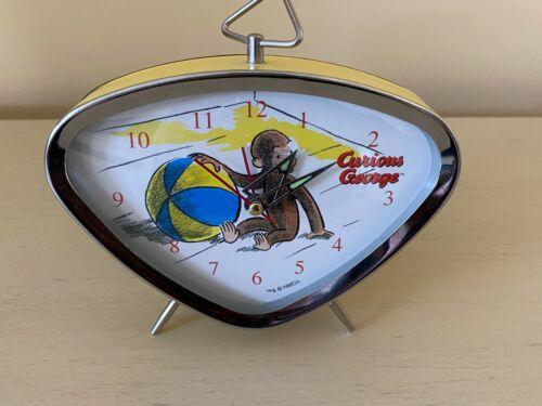Curious George Alarm Clock Monkey Holding Beach Ball Brand New by HMCo.
