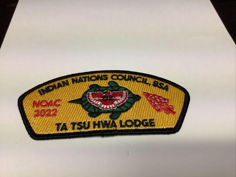 OA Lodge 138 TA TSU HWA Indian Nations Council NOAC 2022 CSP