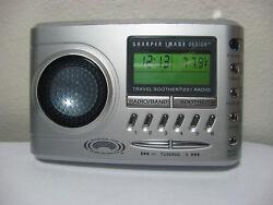 Sharper Image Travel Soother 20 Radio Alarm Clock SI621 # 5374
