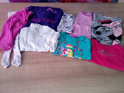 Mädchen Kleidungspaket 98 / 104 Disney / Hello Kitty etc. Herbst / Winter