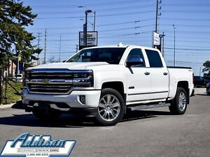 2017 Chevrolet Silverado 1500 High Country Navi Leather Sunroof