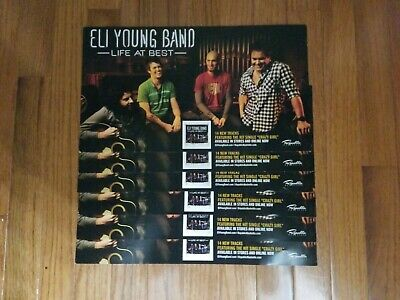 Lot of 6 Eli Young Band Life At Best Country Music Poster 15