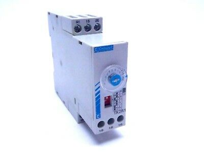 Crouzet Tk2r1 Din Rail Mount Timer 2 Relay 8a 06 S - 160 S