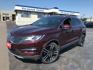 2017 Lincoln MKC Reserve/NAV/LEATHER/CAM/ROOF