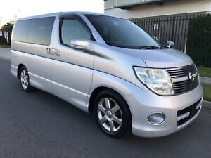 2008 Nissan Elgrand High Way Star 6 month Rego & 12 month warranty inc Meadowbrook Logan Area Preview