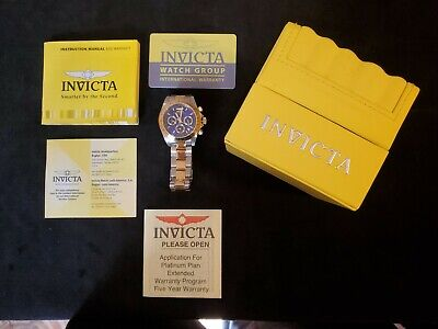 Invicta Men's Speedway Chronograph 200m Two Toned Stainless Steel Watch