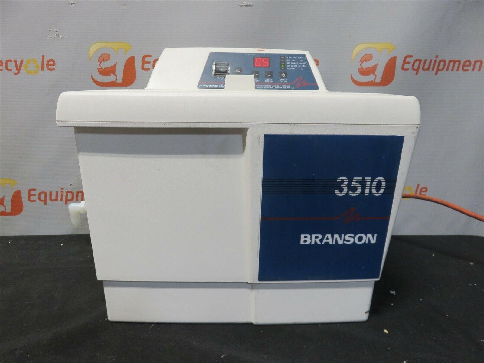 Branson Bransonic 3510 Ultrasonic Cleaner 3510R-DTH Water Bath