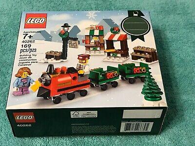 LEGO 40262 Christmas Train Ride 2017 Holiday Seasonal Set 169pcs New & Sealed