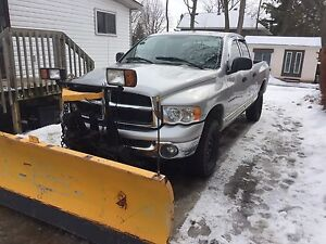 2003 Ram with Plow