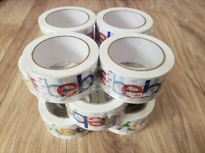 12 Rolls Ebay Branded 2 Tape 75 Yard Bopp Packaging Packing Shipping Supplies