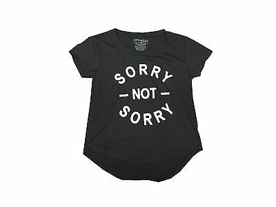 Sorry Not Sorry Funny Cute Cardio Workout Fitness Womens High Low T Shirt
