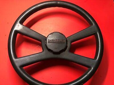 1976-1994 CHEVROLET GM PICKUP SILVERADO C10 C1500 K1500 STEERING WHEEL OEM USED!