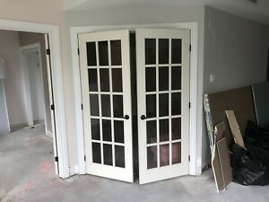 French doors / portes francaises