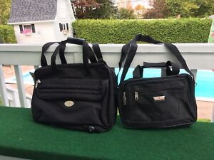 2 BLACK BAGS...very compact
