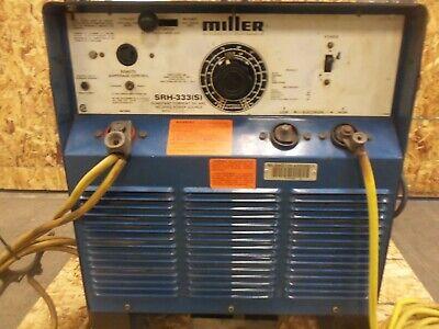 Miller Arc Welding Machine Srh-333 S 300 Amp 3 Phase 32v62v 208v-575v Kmgm